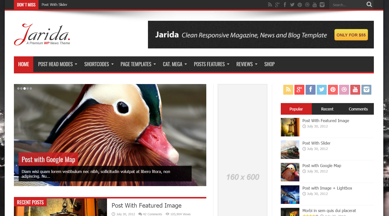 Wordpress site greenmediaitcom uses the greenigma best wordpress theme greenigma best wordpress theme by weblizar