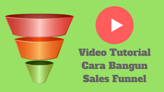 Video Tutorial Cara Bikin Sales Funnel