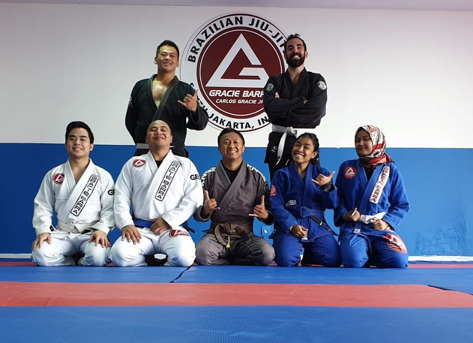 Upcoming Gracie Barra Indonesia seminar in Jakarta on March 2