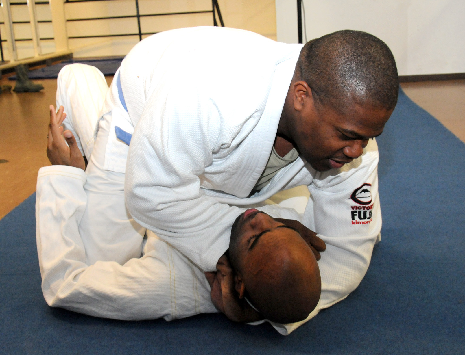 The awesome Ezekiel choke