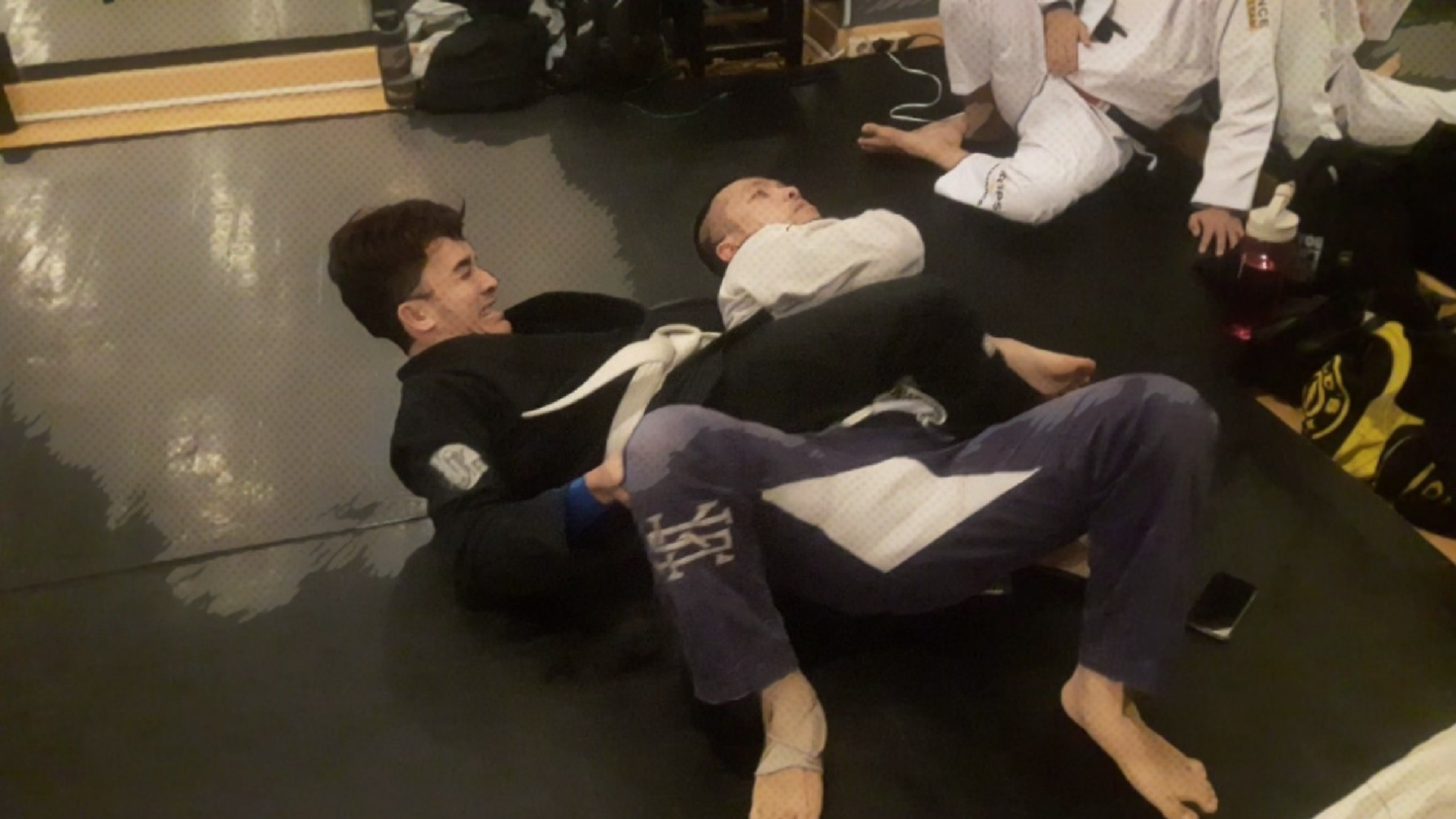 New Sparring Video: Bow & Arrow Choke Finish