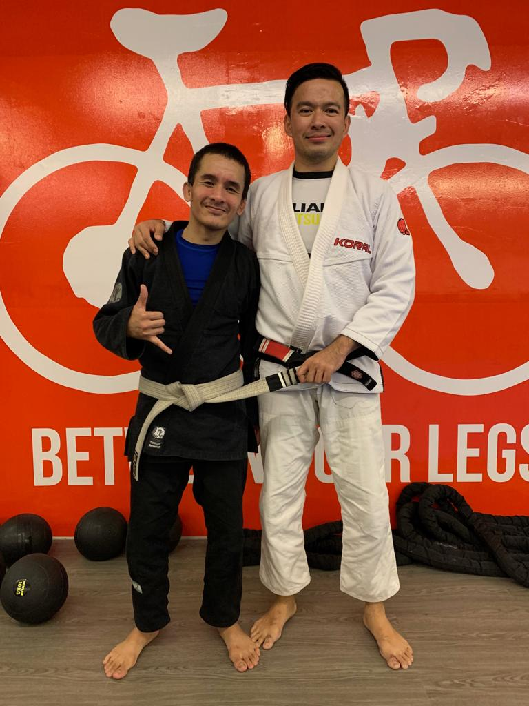 Promoted to 3-stripe white belt & what I went through to get here