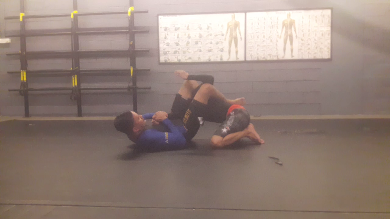 BJJ self defense basics: how to do an armbar from the closed guard