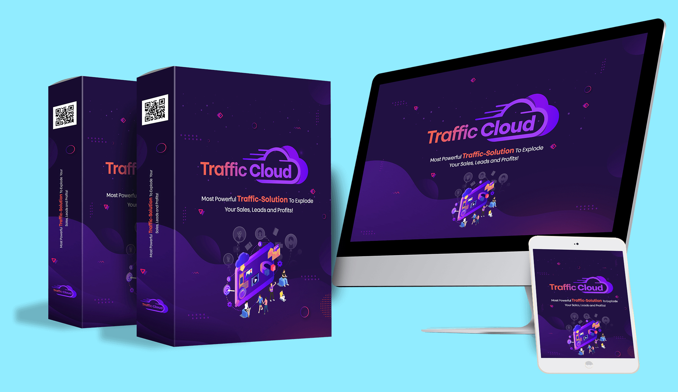 Traffic Cloud: Brand New Social Media Marketing Tool From Eric Holmlund – Release Date: May 2, 2020