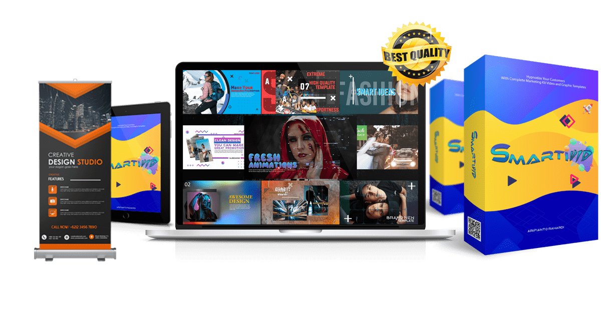 Smartivid – Done For You Animated Video & Graphic Design