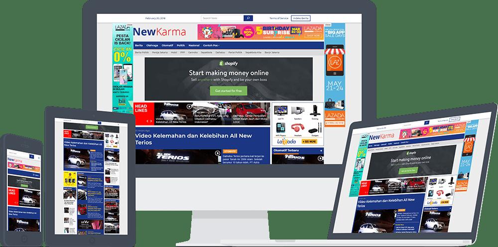 #SeninDigital: 10 WordPress themes premium buatan Indonesia buat berbagai jenis usaha online